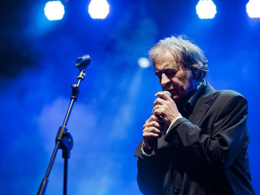 21/04/2013 Roma, concerto in onore di Franco Califano. Nella foto Fred Bongusto (Agf)