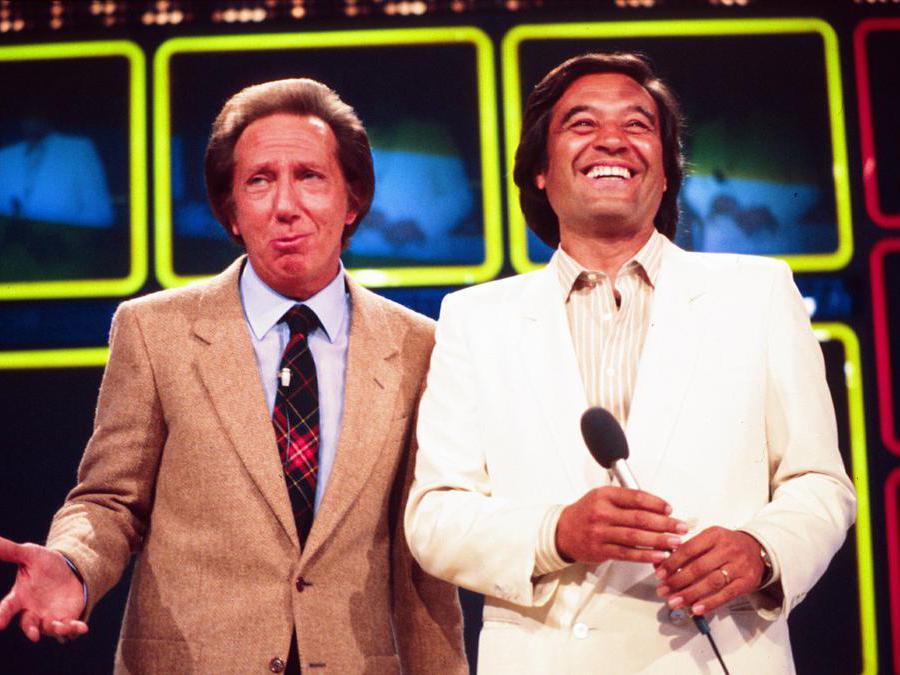 Mike Bongiorno e Fred Bongusto  (Iennachero/Fotogramma)