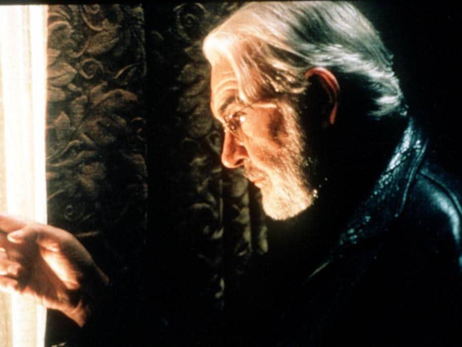 """Sean Connery, una scena di """" Scoprendo Forrester """" , il film diretto da Gus Van Sant TRISTAR FILMS ITALIA / ANSA / PAL"""