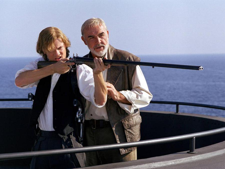 foto IPP/imagostock immagine di scena del film La leggenda degli uomini straordinari (2003) nella foto sean Connery  -