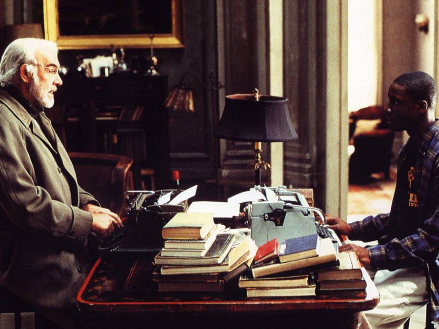 foto IPP/imagostock immagine di scena del film Scoprendo Forrester (2000) sean Connery e Rob Bbrown