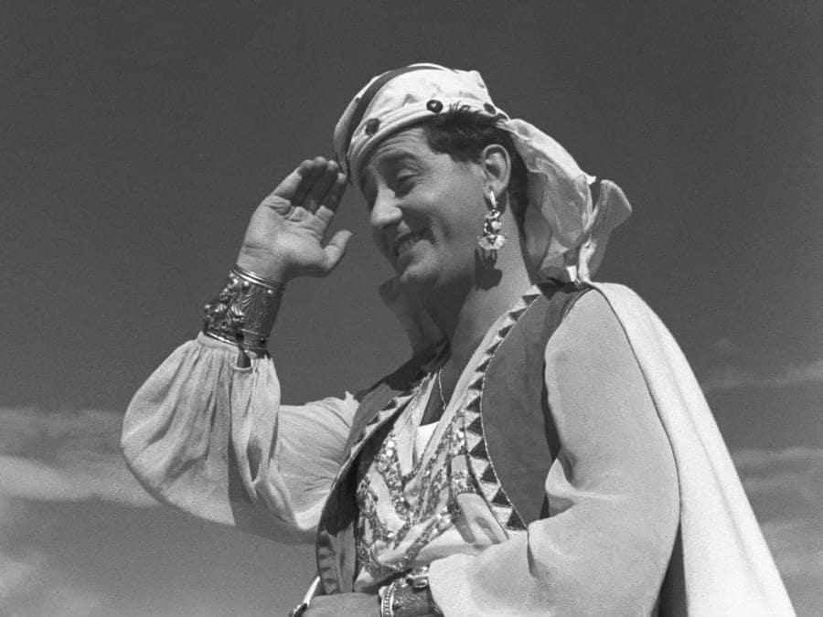 In  Lo sceicco bianco di Federico Fellini (1952) (Afp)