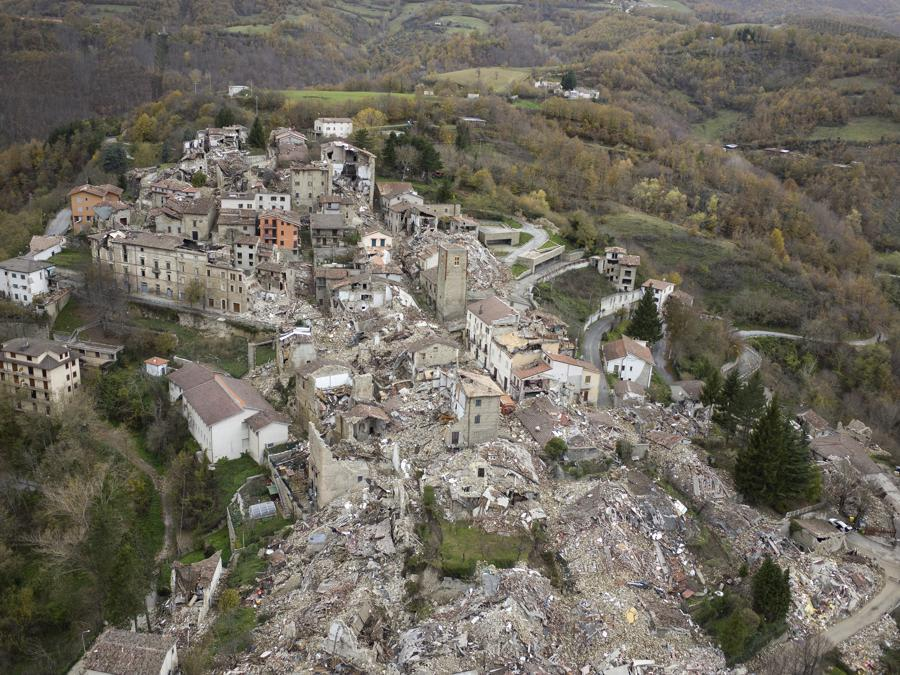 Accumoli, novembre 2016 (Fonte:Terraproject)