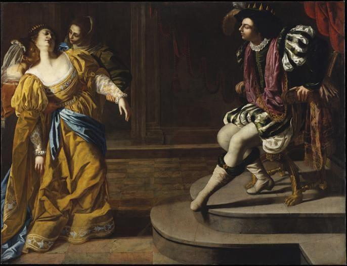"""Artemisia Gentileschi: """"quello che sa fare una donna"""""""
