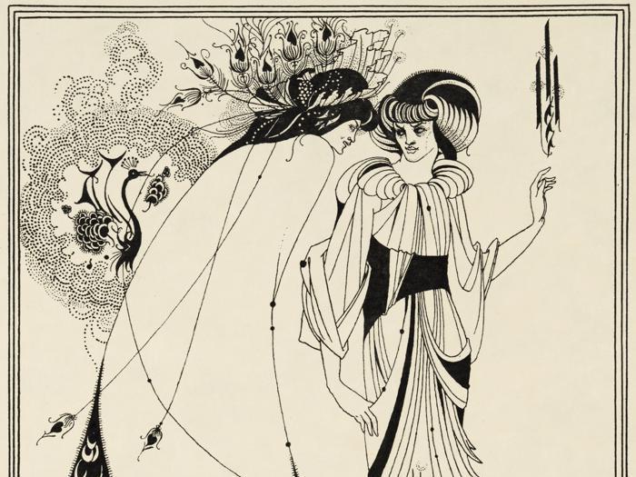 Aubrey Beardsley in mostra alla Tate Britain