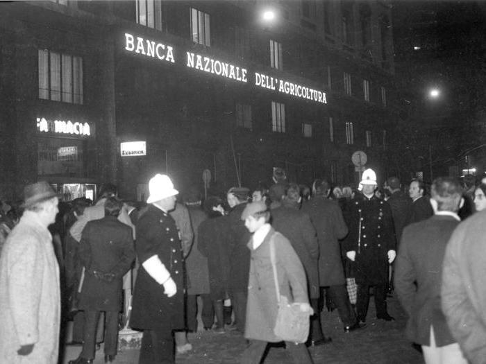 Cinquant'anni fa l'attentato di piazza Fontana