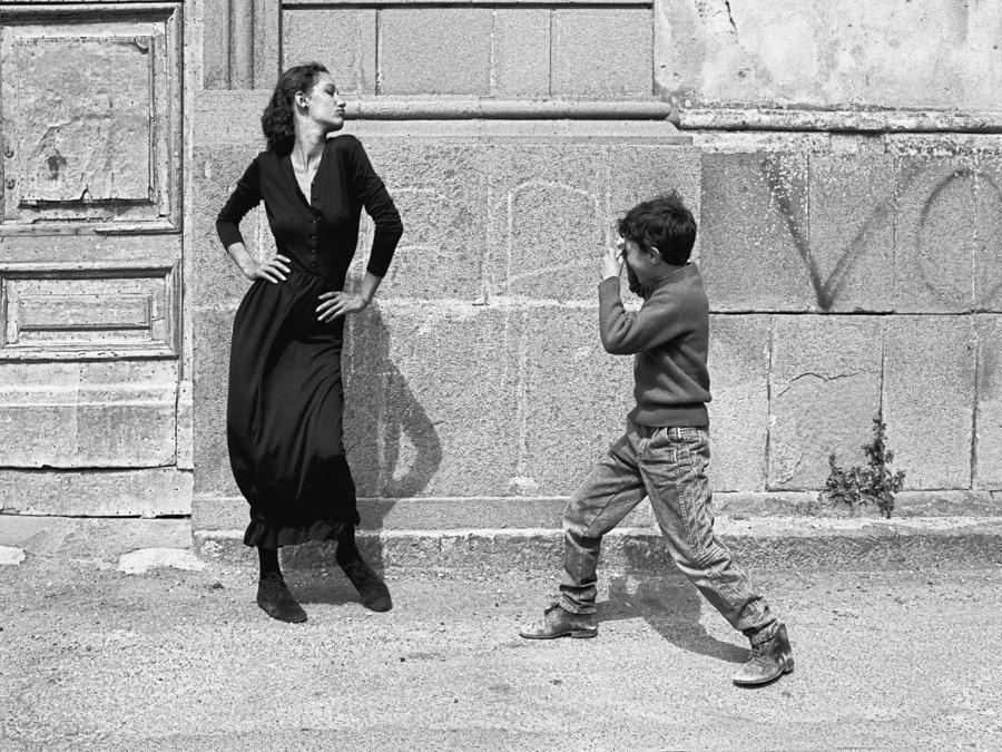 Caltagirone, 1987. (Foto Ferdinando Scianna)