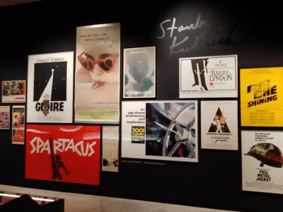 Locandine originali dei film di Kubrick