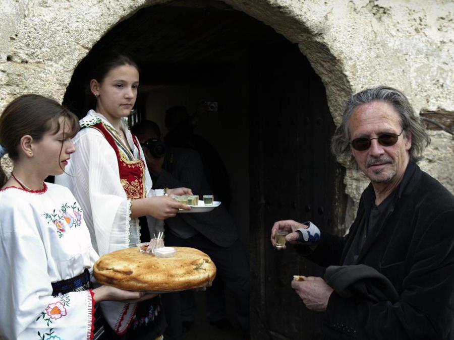 2007, Velika Hoca, Kosovo. Peter Handke(Ansa/Ap)
