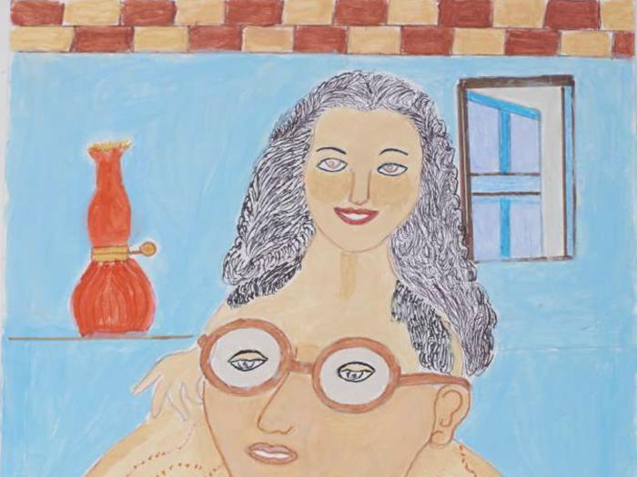 I verdi e rosa sognanti di Reza Shafahi