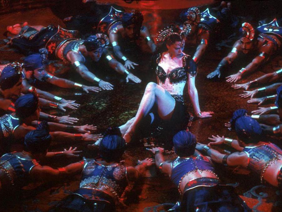 Una scena del film «Moulin Rouge!» con Nicole Kidman