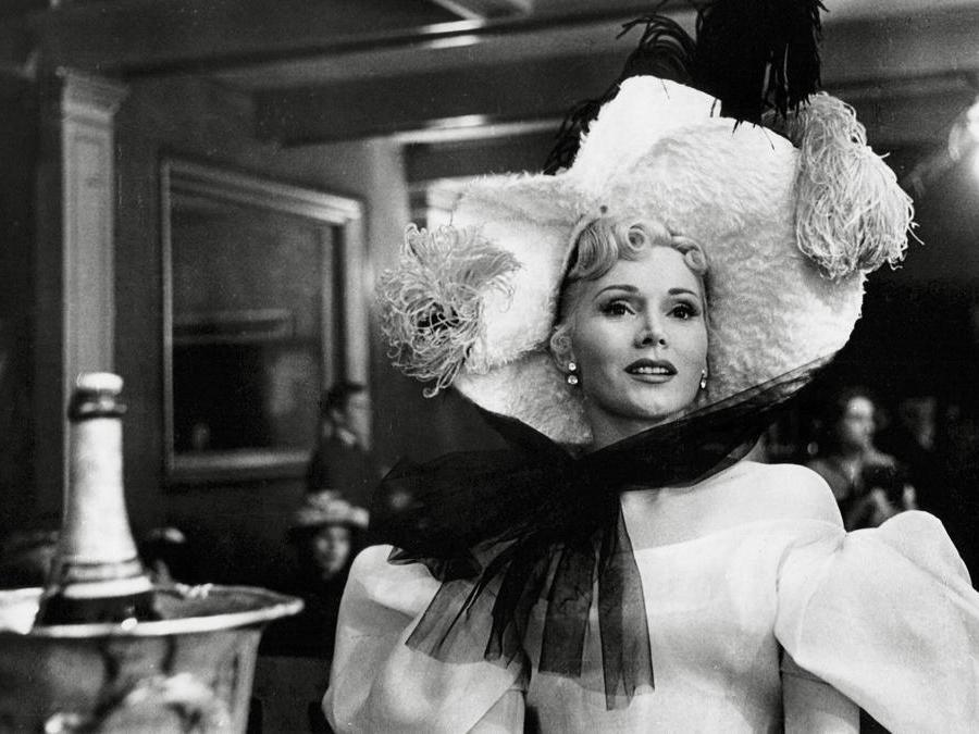 Zsa Zsa Gabor nel film «Moulin Rouge»  del 1952