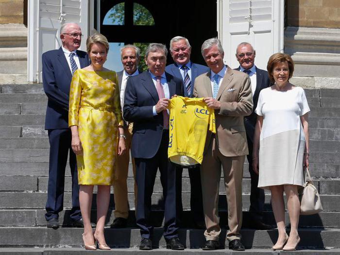 Il Tour de France festeggia Merckx a Bruxelles