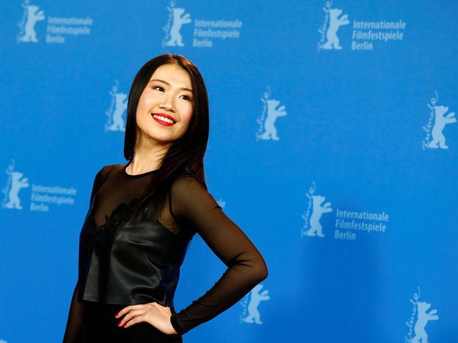 L'attrice Xiao Sun (Reuters/Michele Tantussi)