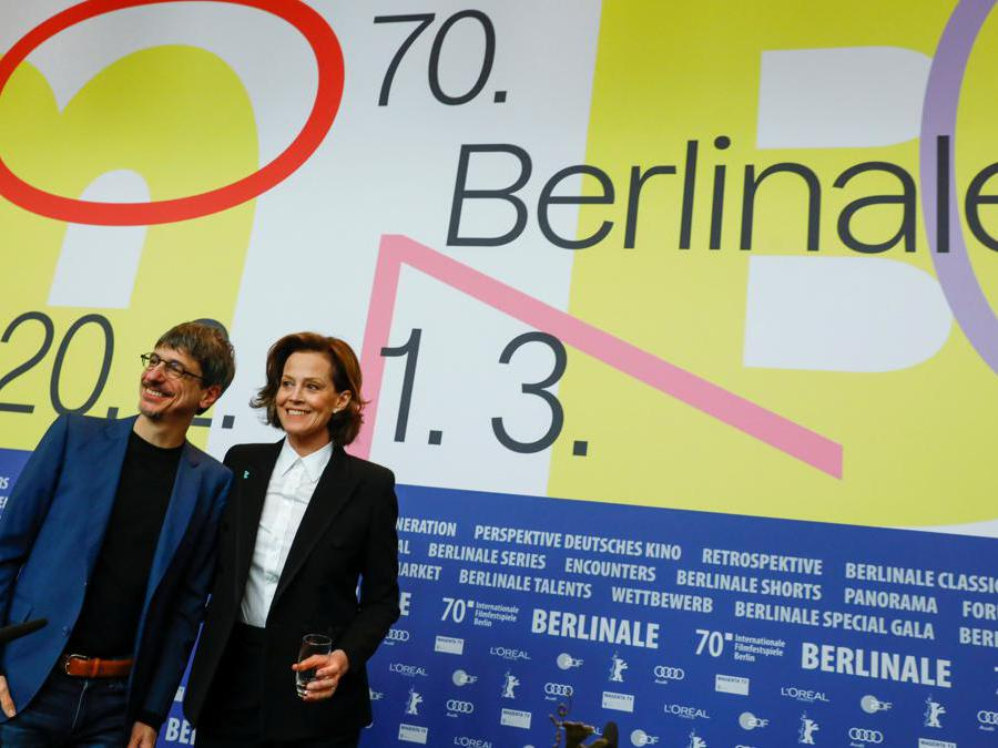 Il regista Philippe Falardeau e Sigourney Weaver (Reuters/Michele Tantussi)