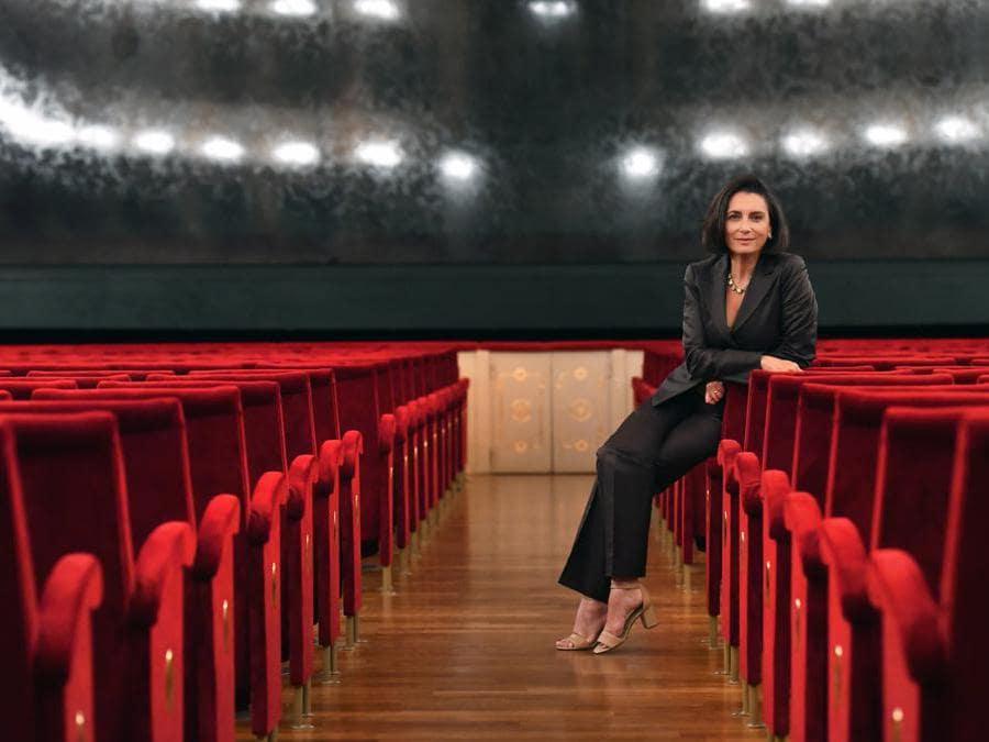 Anna Maria Meo - Sovrintendente del Teatro Regio di Parma)