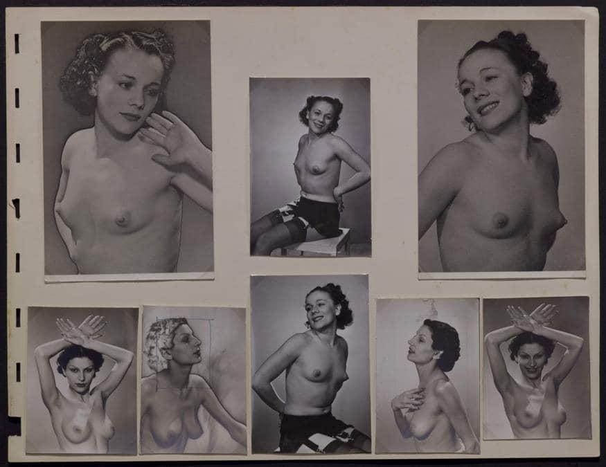 Man Ray,  Models, 1920 -1940 (2013), dimensioni variabili, stampe fotostatiche, collezione privata, courtesy Fondazione Marconi, Milano, © Man Ray Trust by Siae 2019