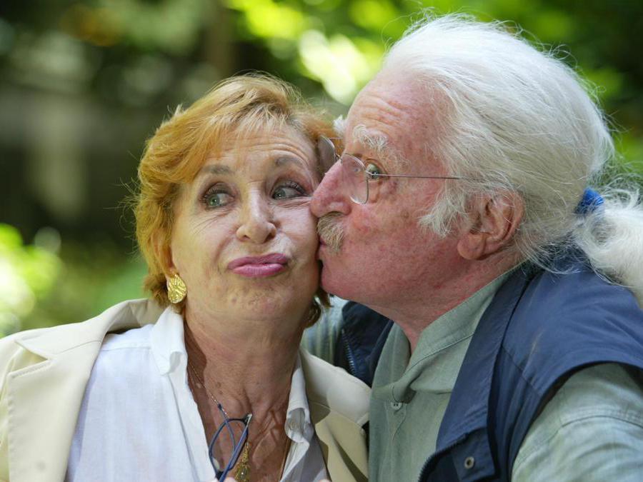 Antonella Steni e Carlo in una foto d'archivio del 4 luglio 2019 (ALESSIA PARADISI/ANSA/DEF)