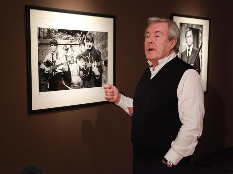 Il fotografo inglese  Terry O'Neill (Afp)