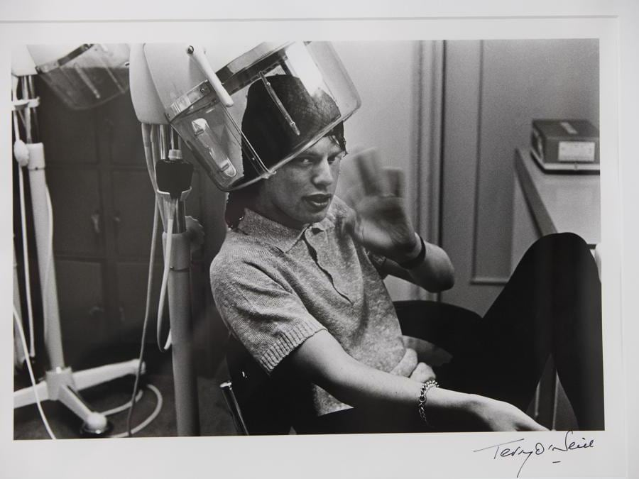 Mick Jagger fotograto da  Terry O'Neill   (Afp)