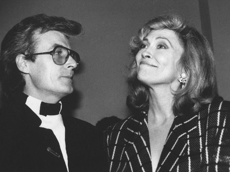 L'attrice Faye Dunaway e suo marito il fotografo inglese Terry O'Neill   (Ap /Erica Lansner)