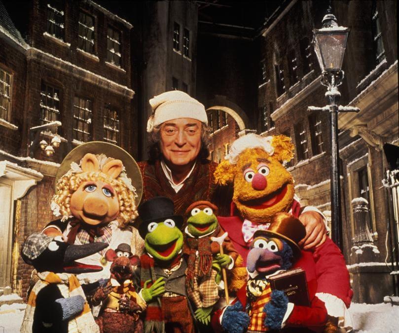 Michael Caine e i Muppets fotografati da Terry O'Neill  (Marka)