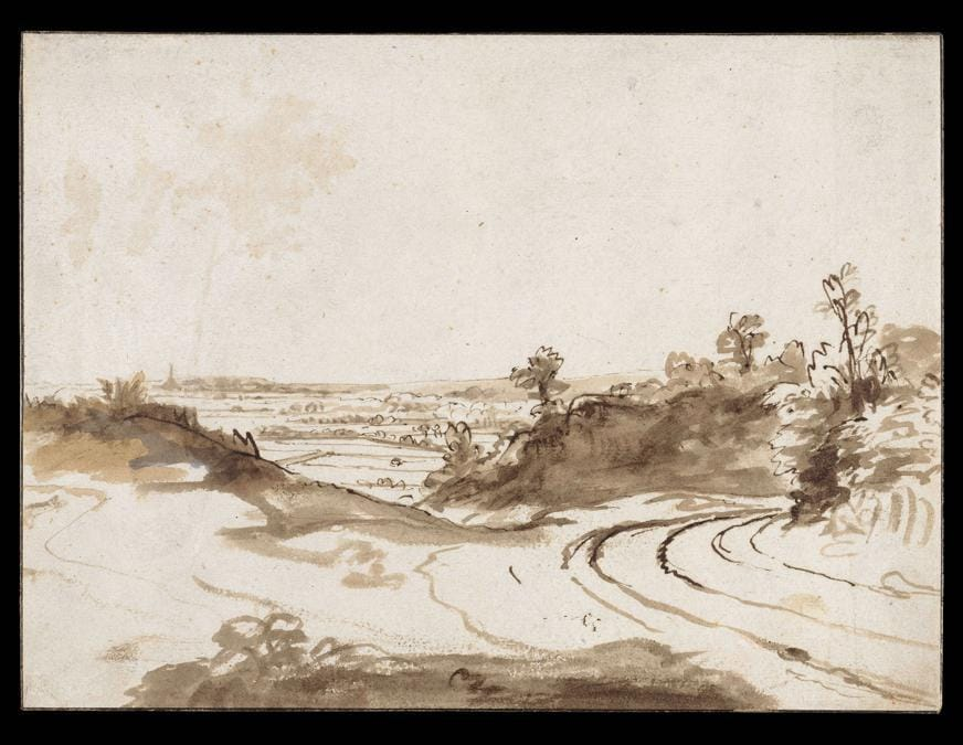 Hilly Landscape. Nicolaes Maes, early 1650s. © Rijksmuseum Amsterdam