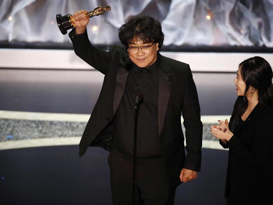 Bong Joon  regista del film Paradise vincitore  come miglior film EPA/ETIENNE LAURENT