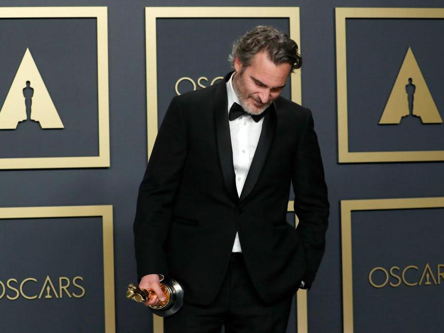Joaquin Phoenix miglior attore protagonista per Joker REUTERS/Lucas Jackson