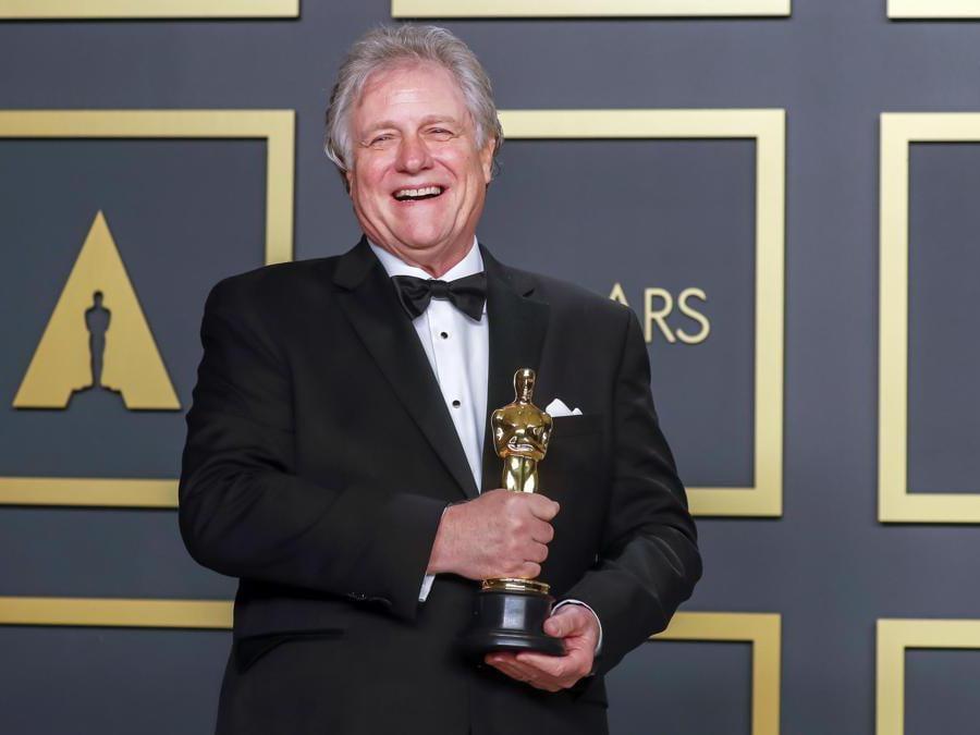 Donald Sylvester Oscar per il miglior montaggio Ford v Ferrari  EPA/DAVID SWANSON