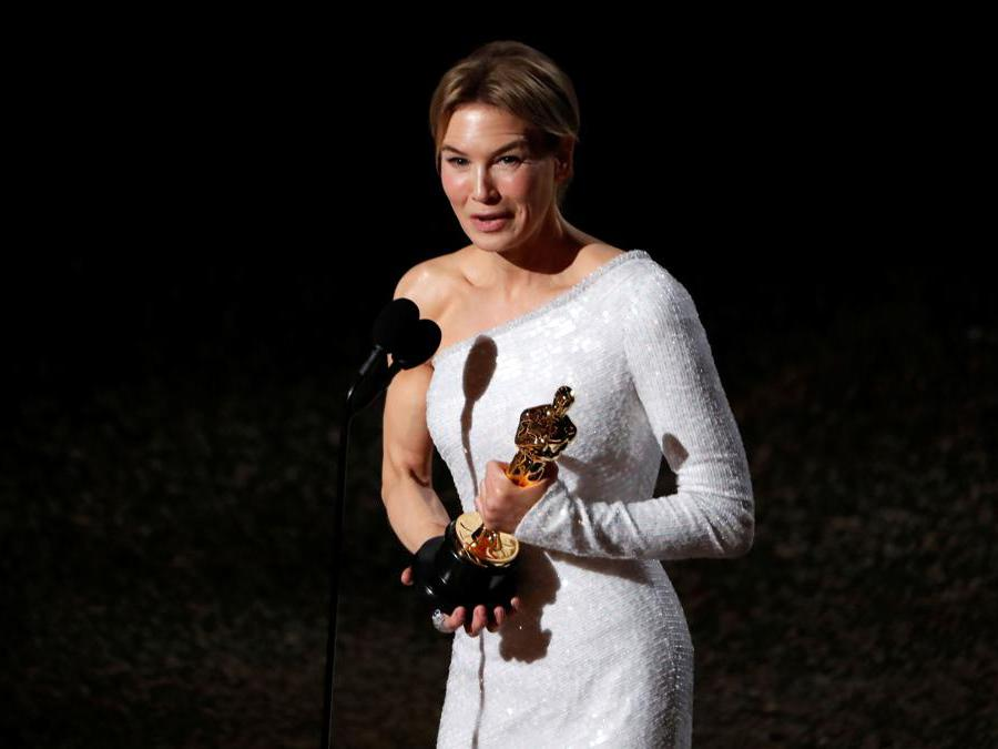 Renee Zellweger  Oscar come miglior attrice per Judy REUTERS/Mario Anzuoni TPX IMAGES OF THE DAY