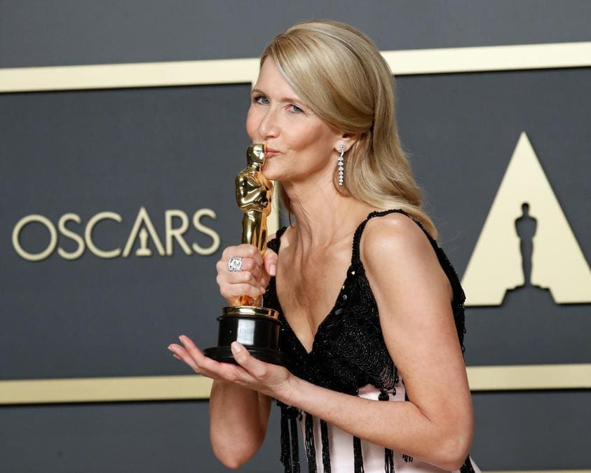 Laura Dern Oscarcome miglior attrice non protagonista per  Marriage Story REUTERS/Lucas Jackson