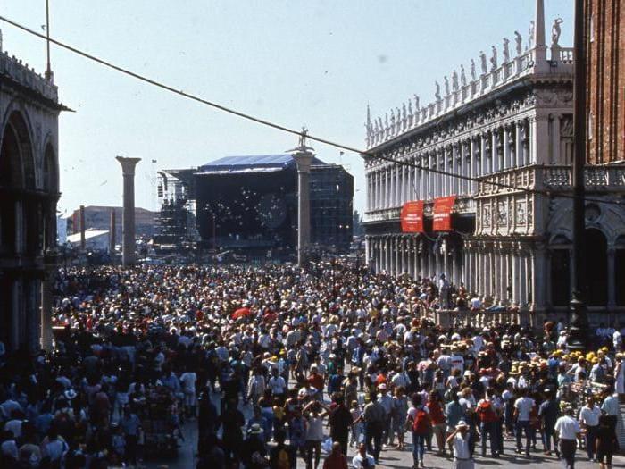 Pink Floyd, 30 anni fa il live a Venezia