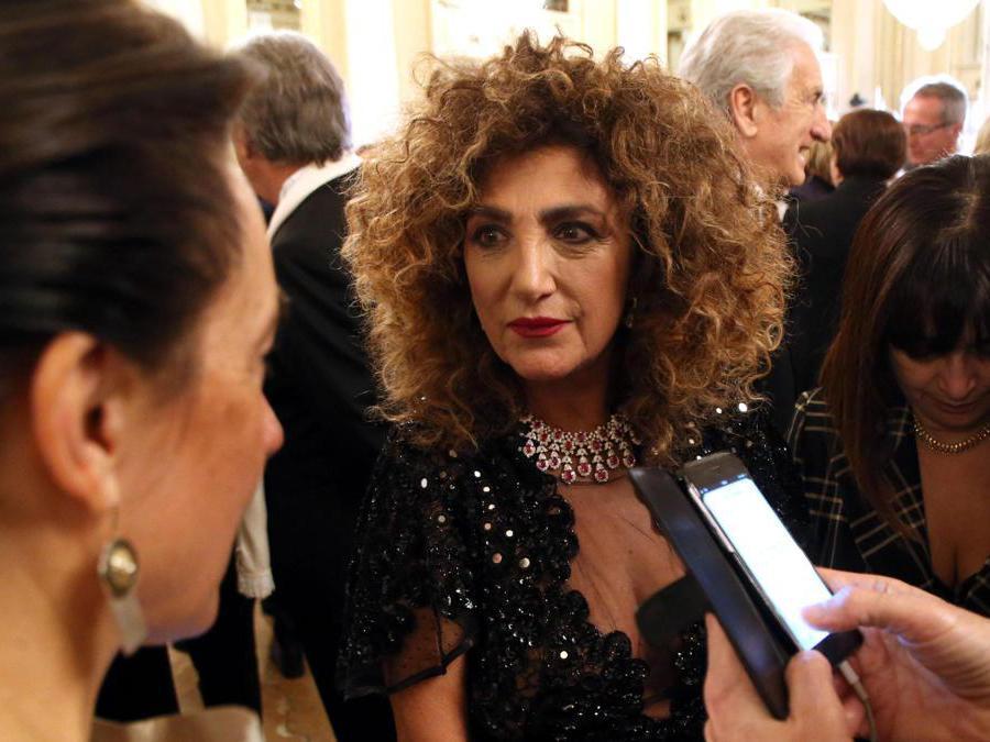 La cantante  Marcella Bella. (Ansa/Matteo Bazzi)