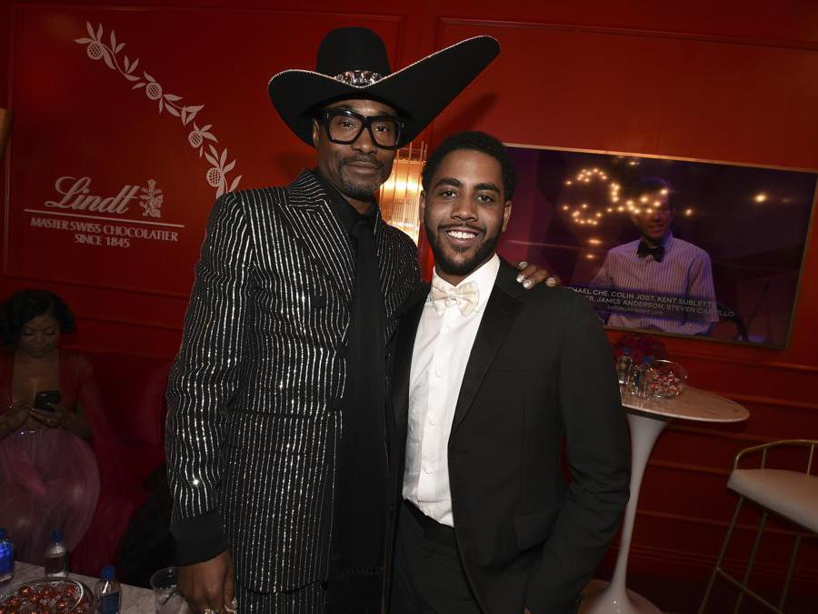 Billy Porter e Jharrel Jerome.  (Photo by Dan Steinberg/Invision for the Television Academy/AP Images)