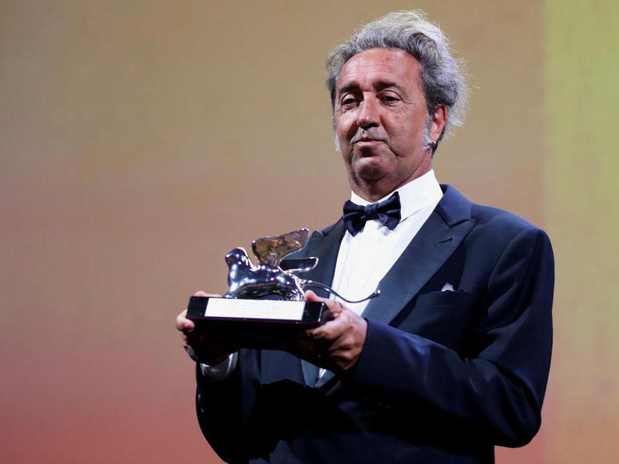 Paolo Sorrentino, Leone d'argento per «È stata la mano di Dio»,  Gran Premio Della Giuria. (Reuters/Yara Nardi)
