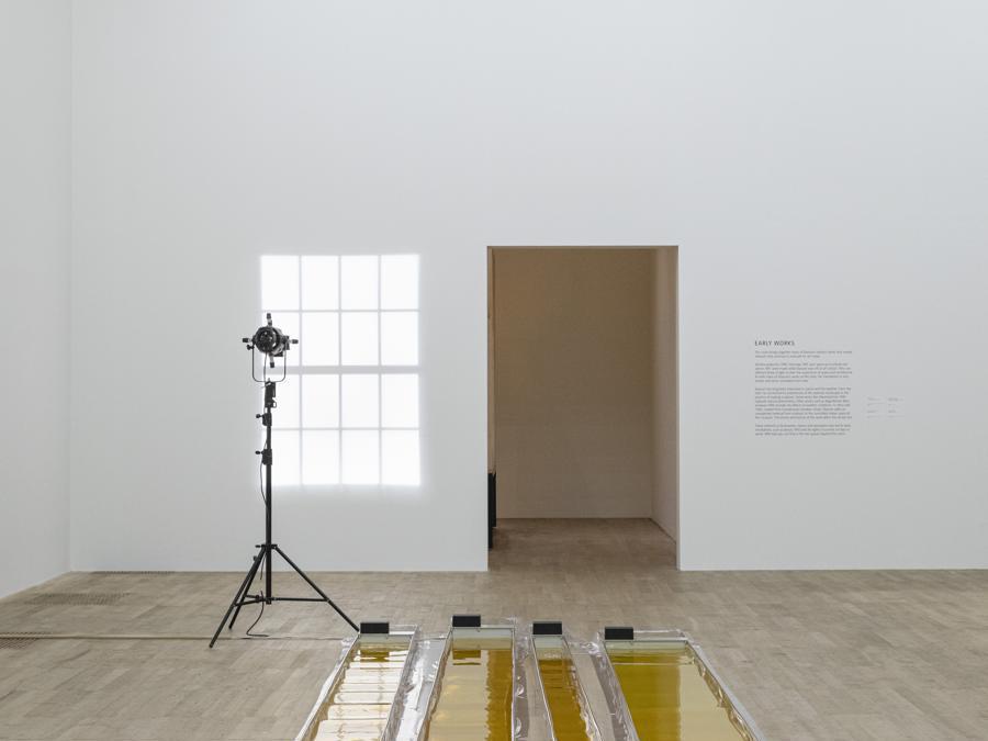 Olafur Eliasson «Wavemachines» 1995.  Installazione presso la «Tate Modern, Londra» (Photo: Anders Sune Berg) 1995 Olafur Eliasson