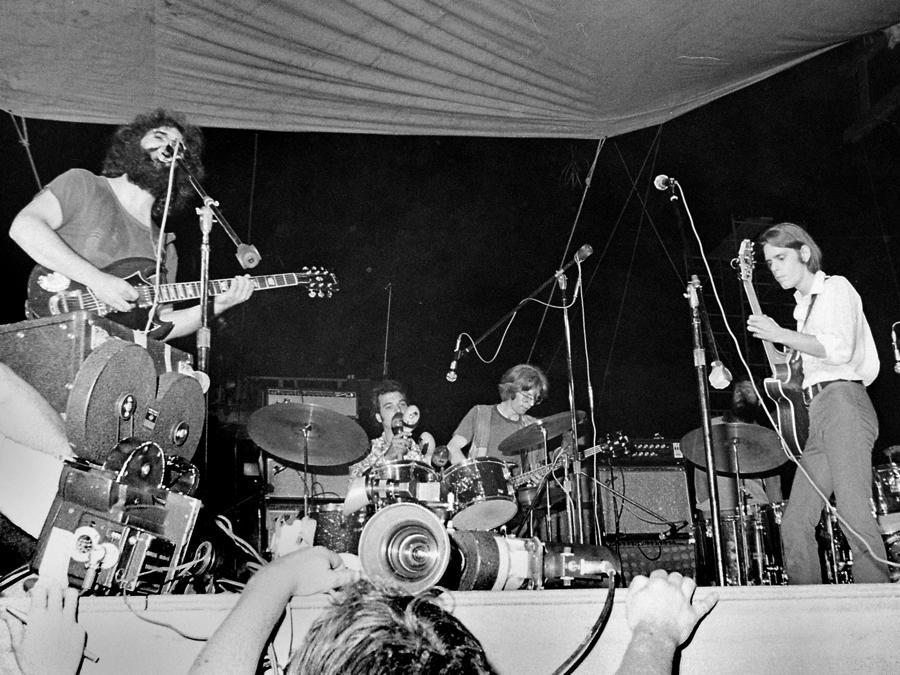 The Grateful Dead (Allen Koss, Frank White Photo Agency)