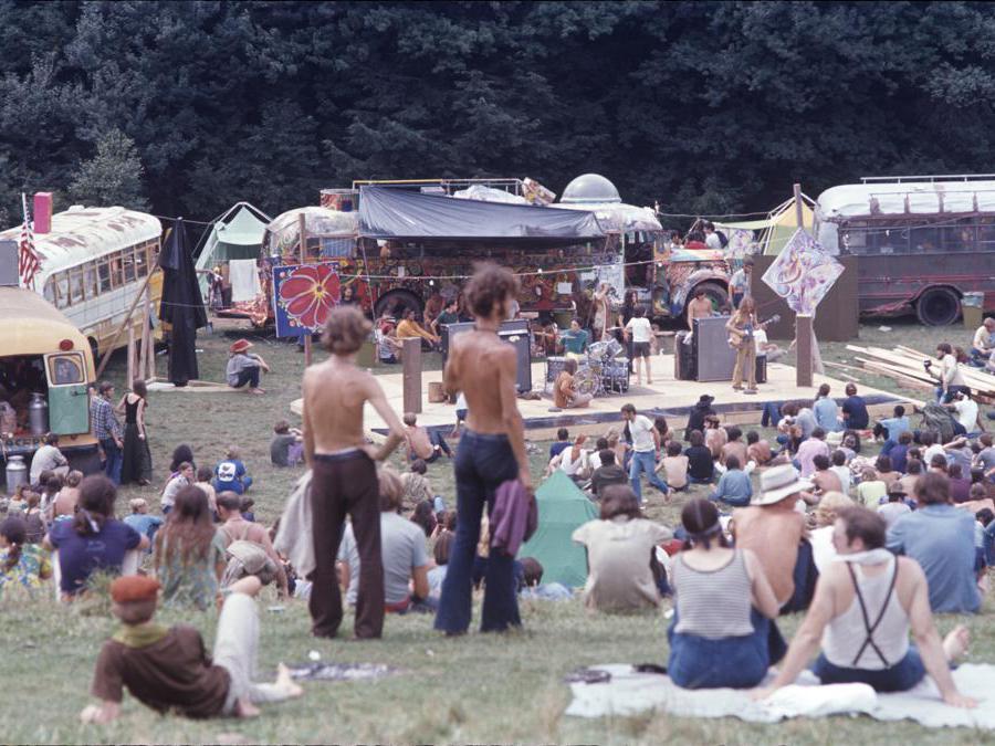 Woodstock,1969 (Henry Diltz)