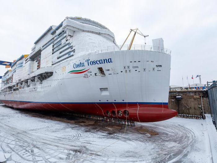 Costa Toscana debutta sotto la neve