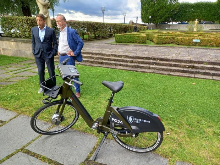 Da Monopoli le bici intelligenti Vaimoo per il bike sharing di Stoccolma