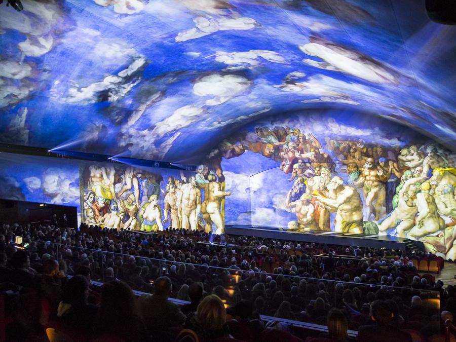 Roma 2018, Giudizio Universale, Cappella Sistina
