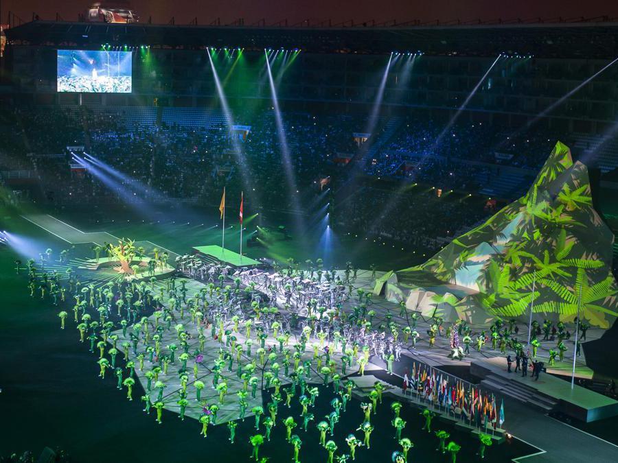 Lima  2019, Pan American Games, cerimonia d'apertura