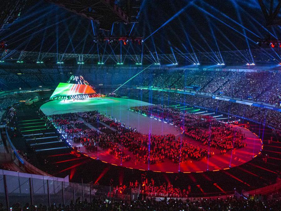 Napoli 2019, cerimonia d'apertura della 30ma  Universiade