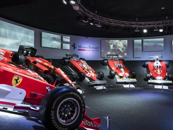 Il mito Ferrari nei Musei di Maranello