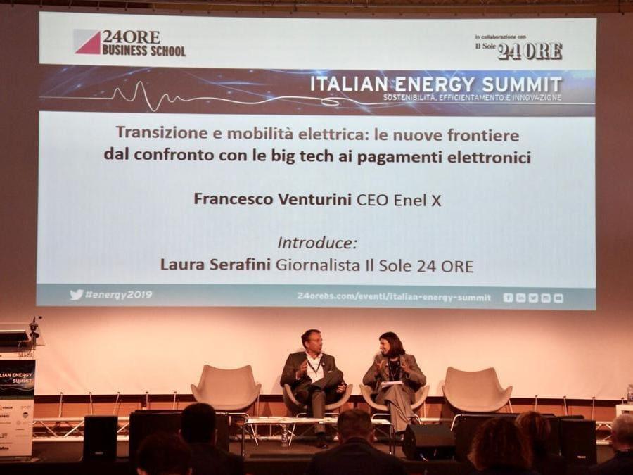 Francesco Venturini, amministratore delegato  di Enel X Italia
