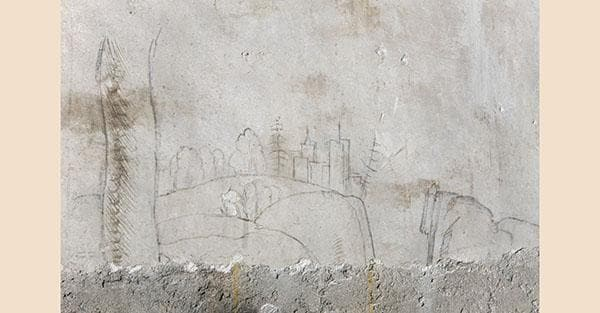 Milano, Castello sforzesco. Sala delle Asse: disegni di Leonardo o scuola leonardesca (Quanta System – Gruppo El.En) / DOPO