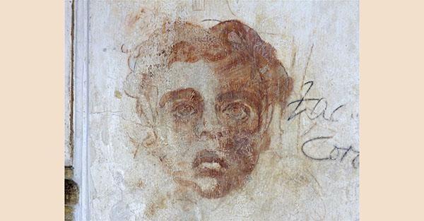 Roma, Palazzo Farnese. Sala Carracci: schizzi, caricature a opera di artisti che visitarono il Palazzo durante il 1500 (Quanta System – Gruppo El.En) / DOPO