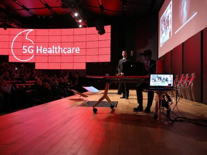 Le soluzioni Vodafone 5G per la sanità
