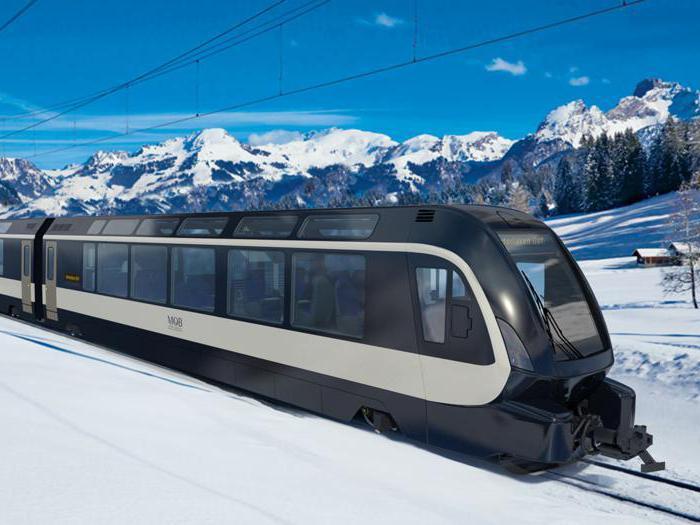 Il treno svizzero delle meraviglie firmato Pininfarina